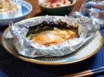 鮭とキノコのホイル焼き4