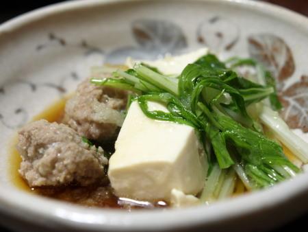 豚つみれ鍋3