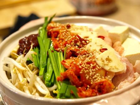 キムチモツ鍋作り方とレシピ7