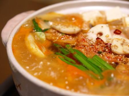 キムチモツ鍋作り方とレシピ8