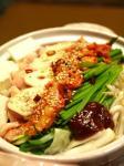 キムチモツ鍋作り方とレシピ9