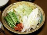 キムチモツ鍋作り方とレシピ12