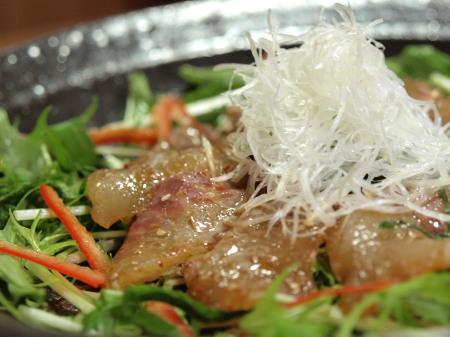 鯛中華風海鮮サラダ9