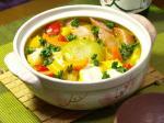 丸ごと玉葱の豆乳カレー鍋作り方とレシピ4