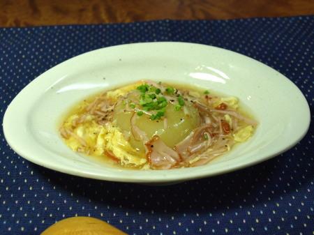 丸ごと玉葱のスープ煮作り方とレシピ2