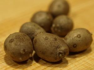 ムカゴツナマヨ焼き作り方2