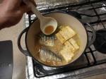 鯖と豆腐にんにく味噌煮11