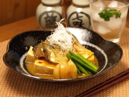 鯖と豆腐にんにく味噌煮a06
