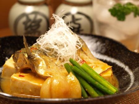 鯖と豆腐にんにく味噌煮a07