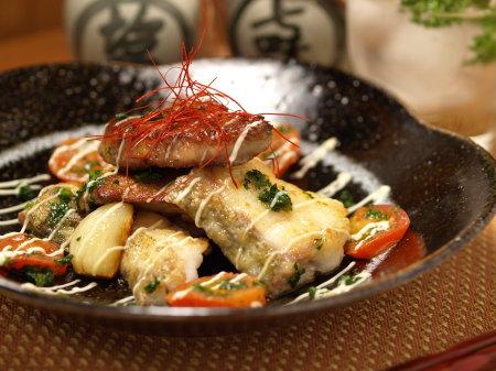 鱈のガーリックオイル焼きa02