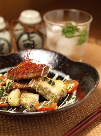 鱈のガーリックオイル焼きa03
