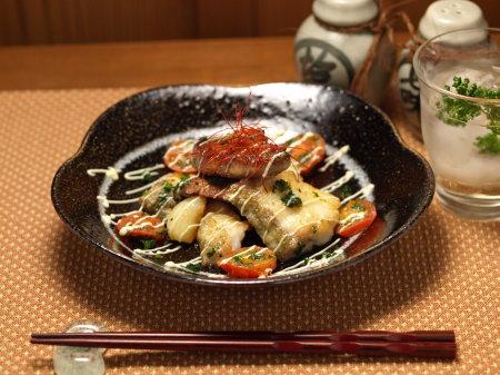 鱈のガーリックオイル焼きa01