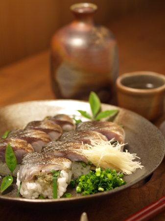 炙りしめ鯖寿司a04