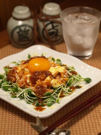 太刀魚キムチチーズユッケa03