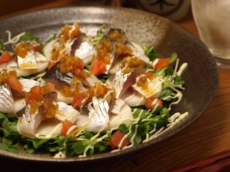 コノシロと長芋のカルパッチョa04
