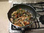 わらびとさつま揚げの炒め煮a06