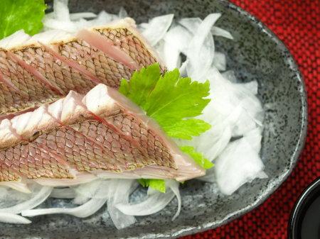 鯛炙り刺身a26