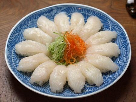 ウスバハギ握り寿司a02