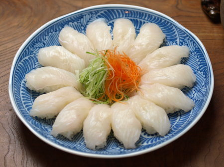 ウスバハギ刺身寿司02