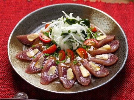 カツオ味噌カルパッチョ01