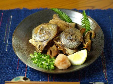 マナガツオ骨煎餅07