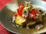 砂肝と夏野菜の南蛮14