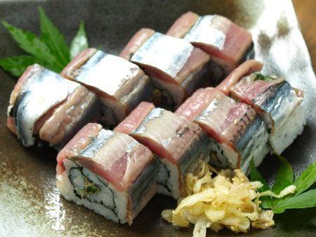 秋刀魚棒寿司19