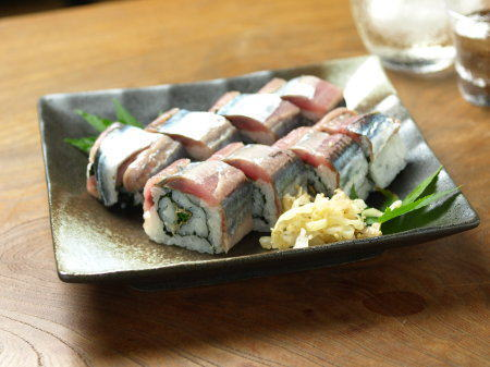 秋刀魚棒寿司18