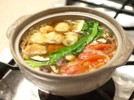 焼きつくねトマト鍋01