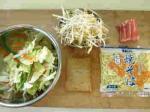 ソース焼きそば、炒め野菜14