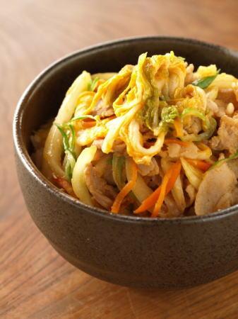 味噌豚白菜丼s11