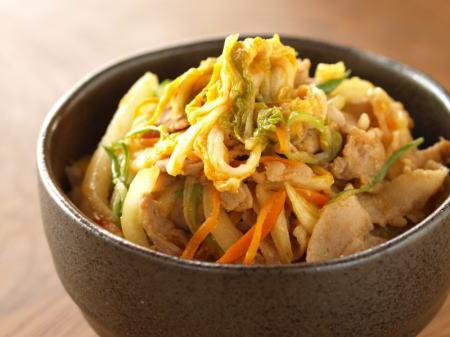 味噌豚白菜丼s10