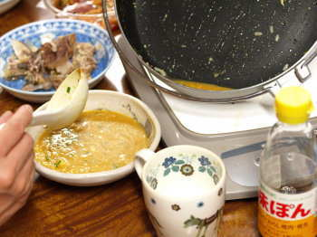 ぶりあらキムチ鍋20