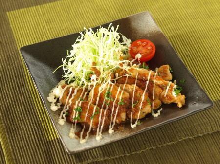 しっとり鶏胸ソテー玉葱ソース02