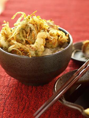 太刀魚かき揚げ丼24