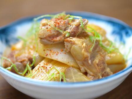 大根と軟骨のぴり辛味噌煮16