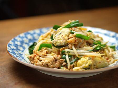 牡蠣とモヤシのキムチ炒め19