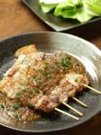 豚バラ串、玉葱ソース09