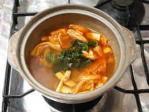 キムチ味のニンジン鍋06