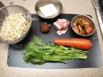 キムチ味のニンジン鍋01