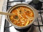 キムチ味のニンジン鍋09