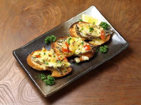 キビナゴチーズトースト01