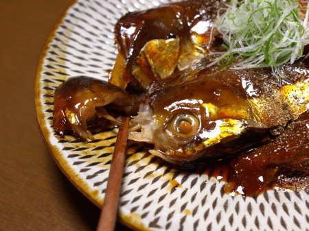鮭あらの柔らか煮04