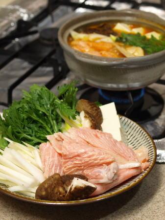 鮭あらキムチ鍋01