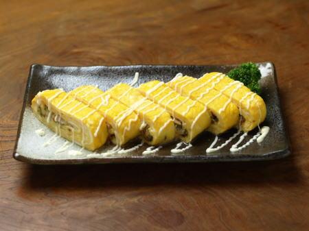 ツナとチーズのスパイス玉子焼05