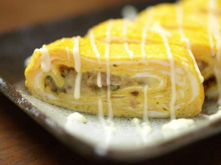 ツナとチーズのスパイス玉子焼07