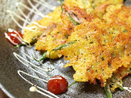 tいんげんのカリカリチーズ焼き3