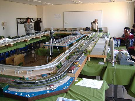 鉄道レイアウト定例会全体20111029
