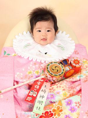 秋田のベビーフォト スタジオ撮影 赤ちゃんポスター展2011夏 ウミカちゃん