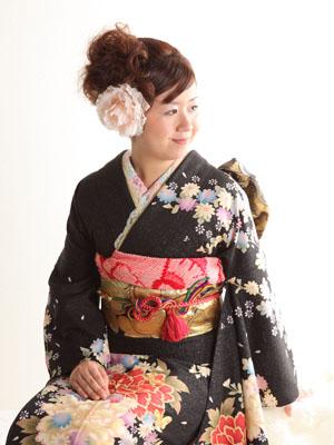 秋田の成人式 スタジオ撮影 振袖 前撮り ユウナさん